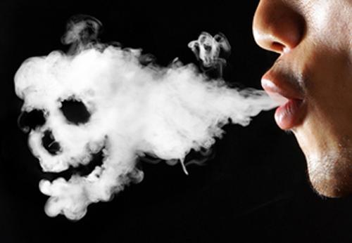 Provoca cigarro humo del que danos el